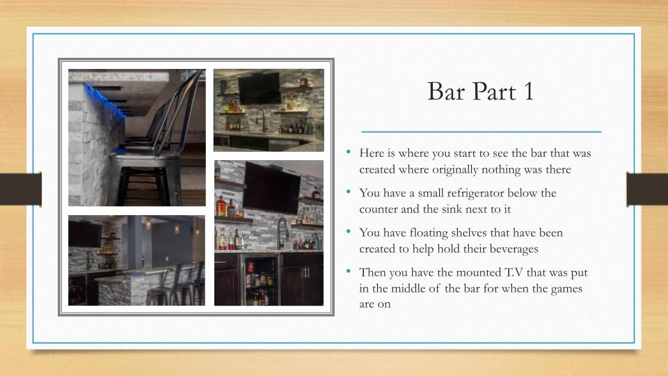 Home Remodeling Milwaukee Bar Part 1