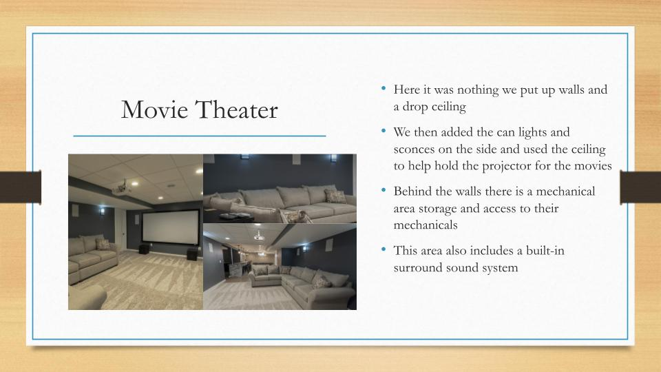 Home Remodeling Milwaukee Movie Theater