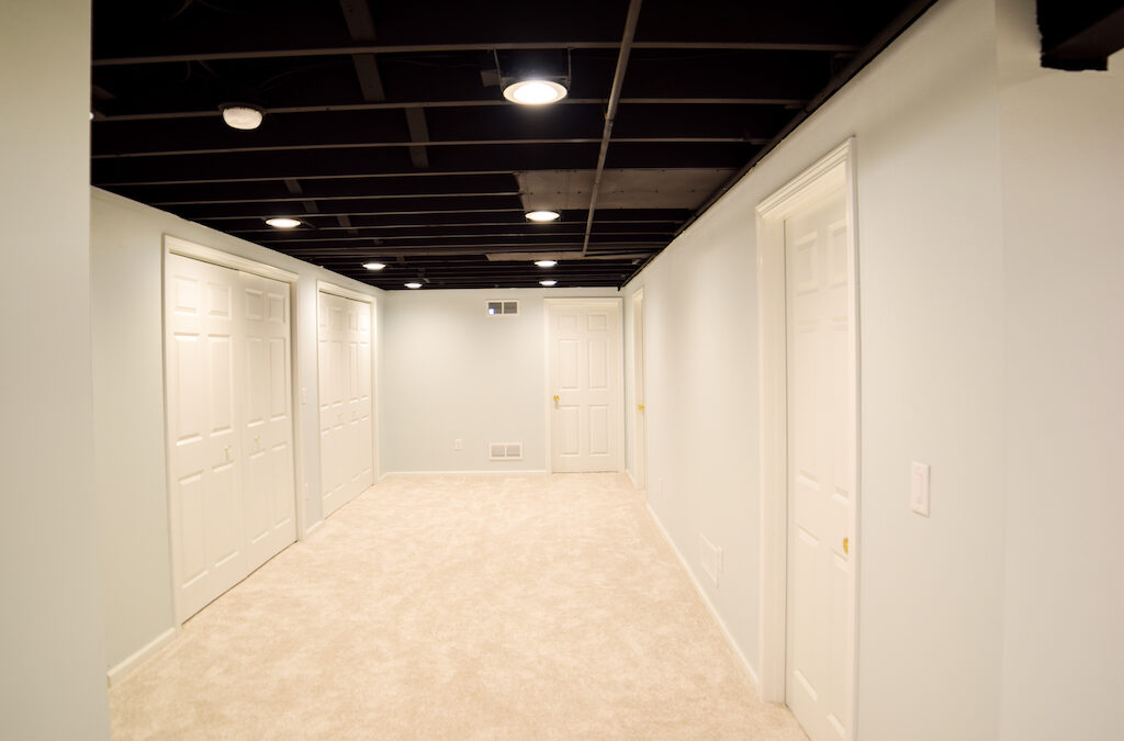 Basement Remodeling Milwaukee | Chosen Colors and Shades